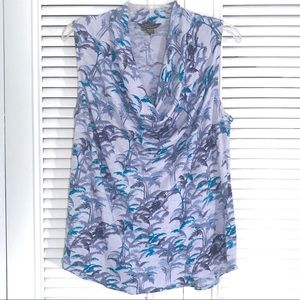 Tommy Bahama - 100% Linen Tropical Print Tank!